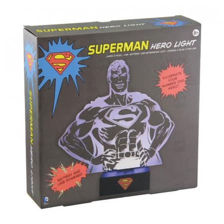 Lampa Superman Hero2