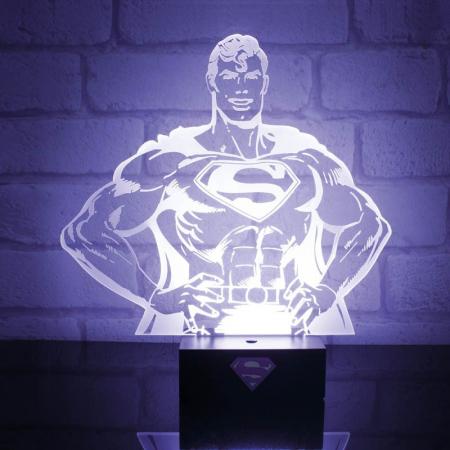 Lampa Superman Hero0