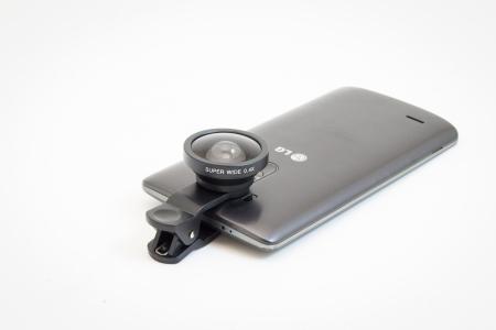 Lentile adaptoare pentru smartphone Wide Angle1