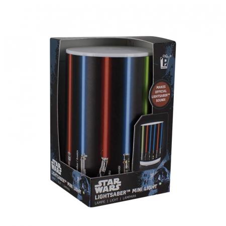 Mini Lampa Star Wars cu sabii laser2