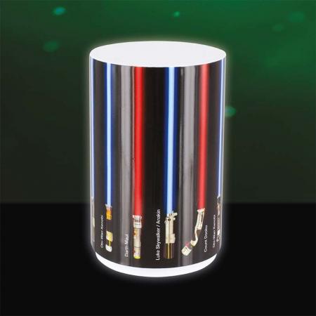 Mini Lampa Star Wars cu sabii laser3