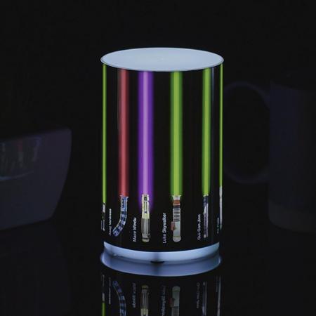 Mini Lampa Star Wars cu sabii laser0
