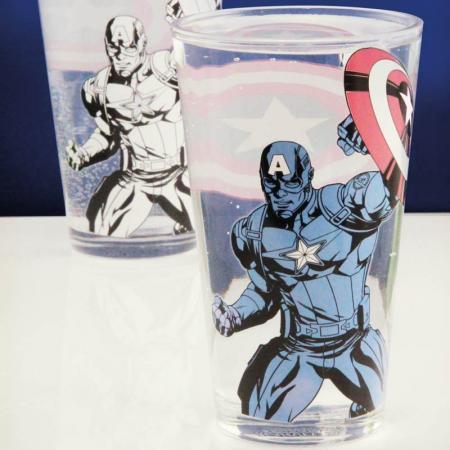 Pahar Termosensibil Captain America0