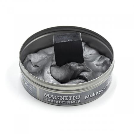 Plastilina Inteligenta Magnetica - Argintie2