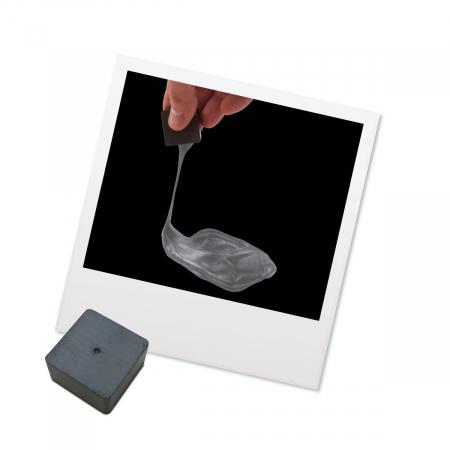 Plastilina Inteligenta Magnetica - Argintie3
