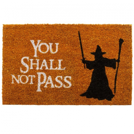 Pres intrare You shall not pass0