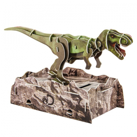 Puzzle 3D Discovery - Anatomia Dinozaurului T-Rex1