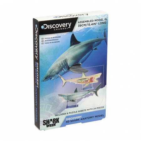 Puzzle 3D Discovery - Anatomia Rechinului1