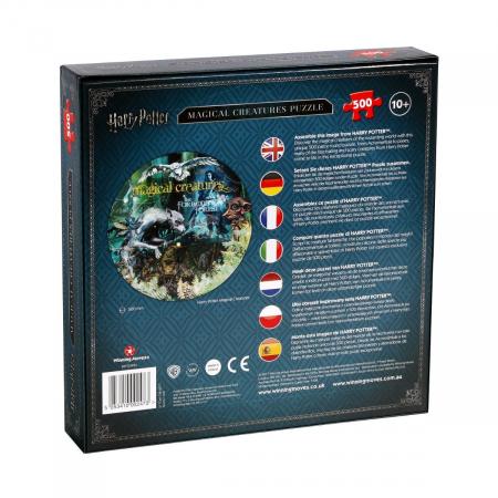 Puzzle Harry Potter 500 piese - Creaturi magice [2]