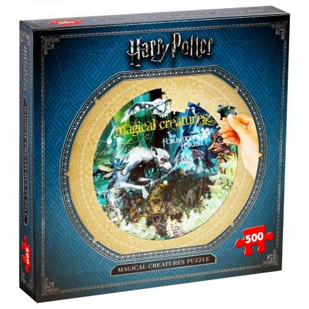 Puzzle Harry Potter 500 piese - Creaturi magice [0]