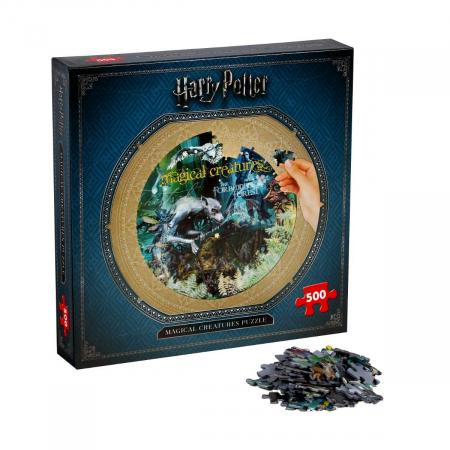 Puzzle Harry Potter 500 piese - Creaturi magice [1]