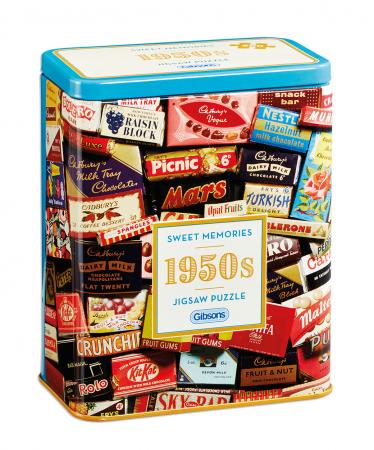 Puzzle in cutie metal 500 piese - Dulciurile anilor 19500