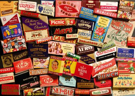 Puzzle in cutie metal 500 piese - Dulciurile anilor 19502