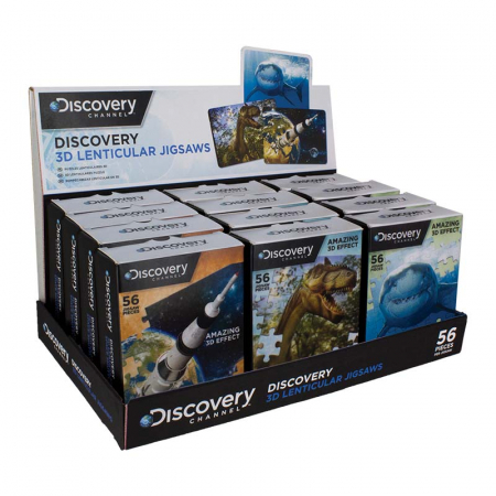 Puzzle Lenticular 3D Discovery1