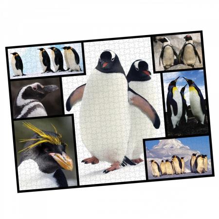 Puzzle WWF 1000 piese - Pinguini1