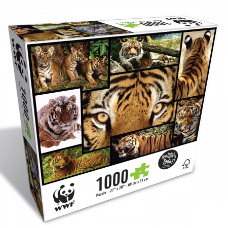 Puzzle WWF 1000 piese - Tigru0