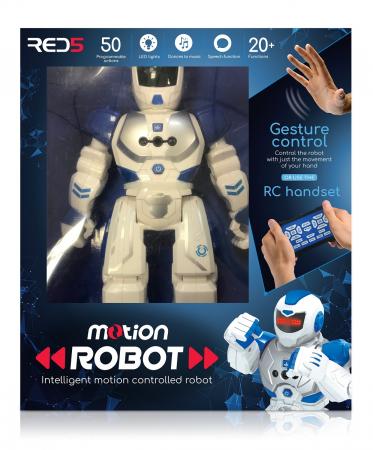 Robot controlabil prin miscarea mainii [4]