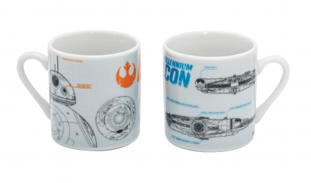 Set 2 cesti espresso Star Wars0