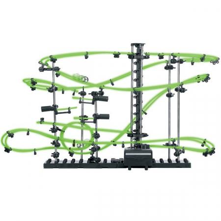 Set constructie Roller Coaster Fosforescent - Nivelul 21