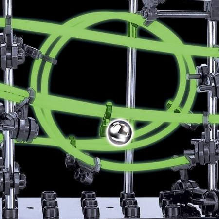 Set constructie Roller Coaster Fosforescent - Nivelul 24