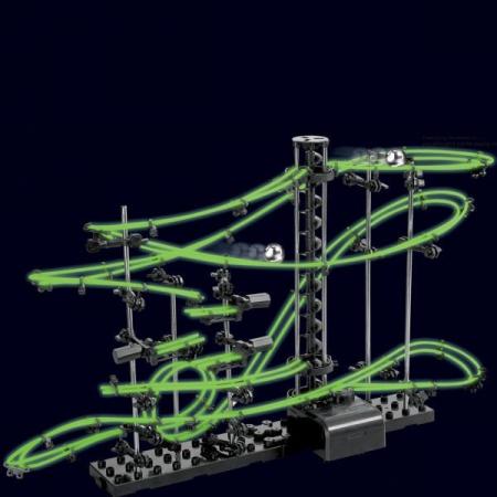 Set constructie Roller Coaster Fosforescent - Nivelul 23