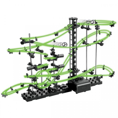 Set constructie Roller Coaster Fosforescent - Nivelul 20
