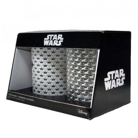 Set doua pahare Star Wars1