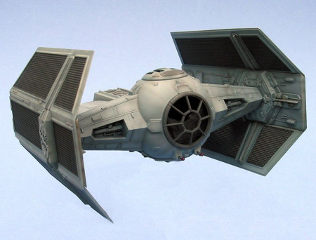 Star Wars - Darth Vader's TIE Advanced X1 Starfighter1