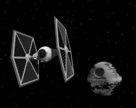 Star Wars - TIE fighter2
