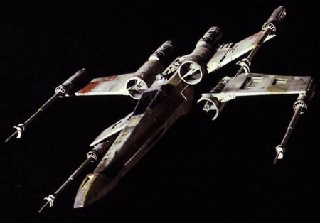 Star Wars - X-wing Star Fighter1