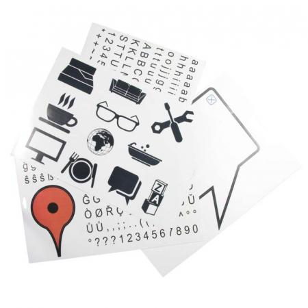 Sticker de perete Maps5