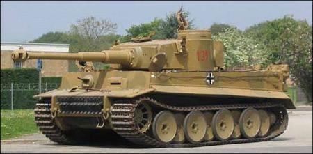 Tanc modelul Tiger I1