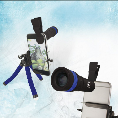 Telescop Discovery pentru Smartphone cu trepied0