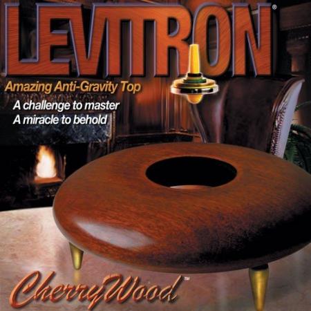 Titirez care leviteaza - Levitron CherryWood1