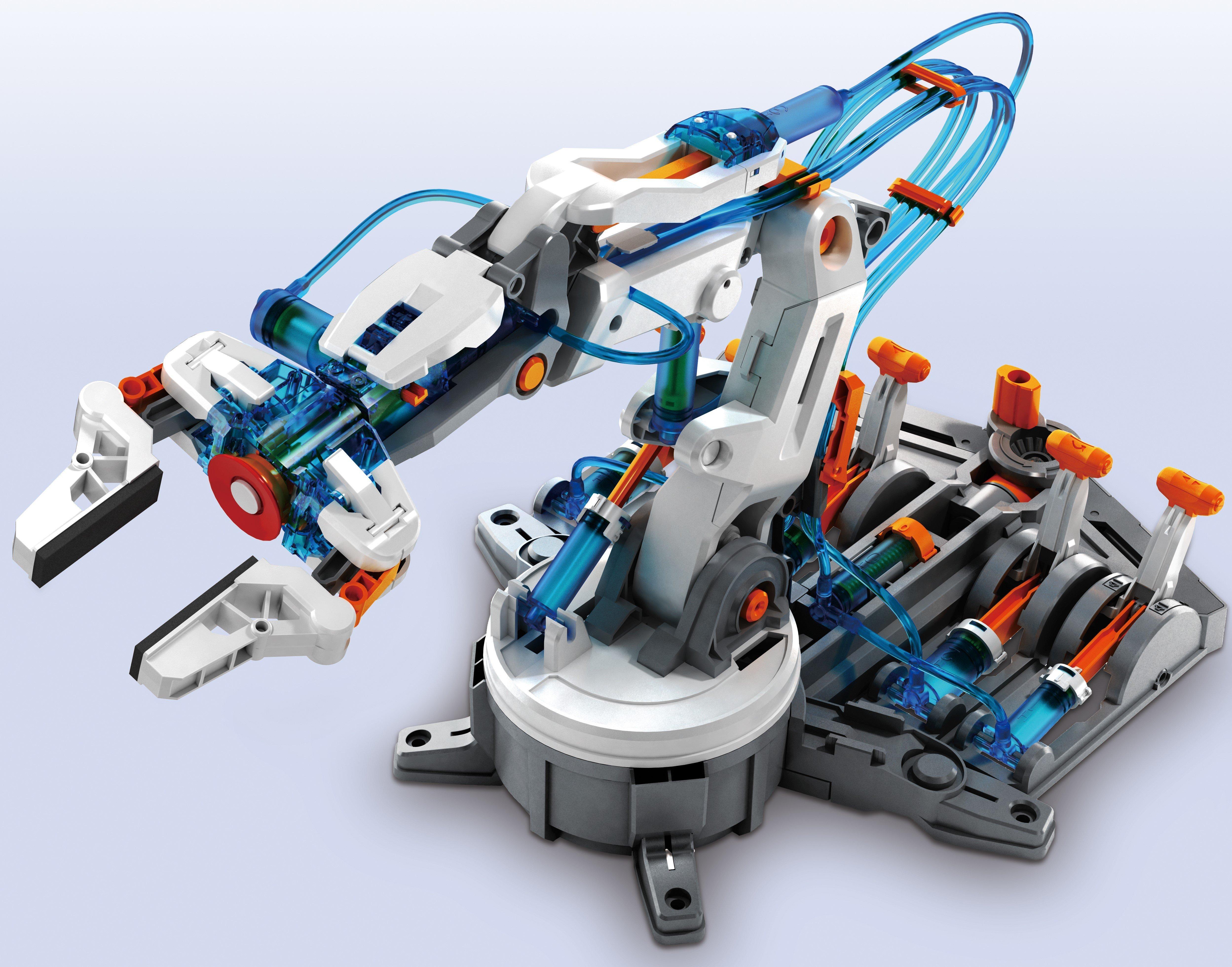 Kit robotica constructie brat hidraulic 1