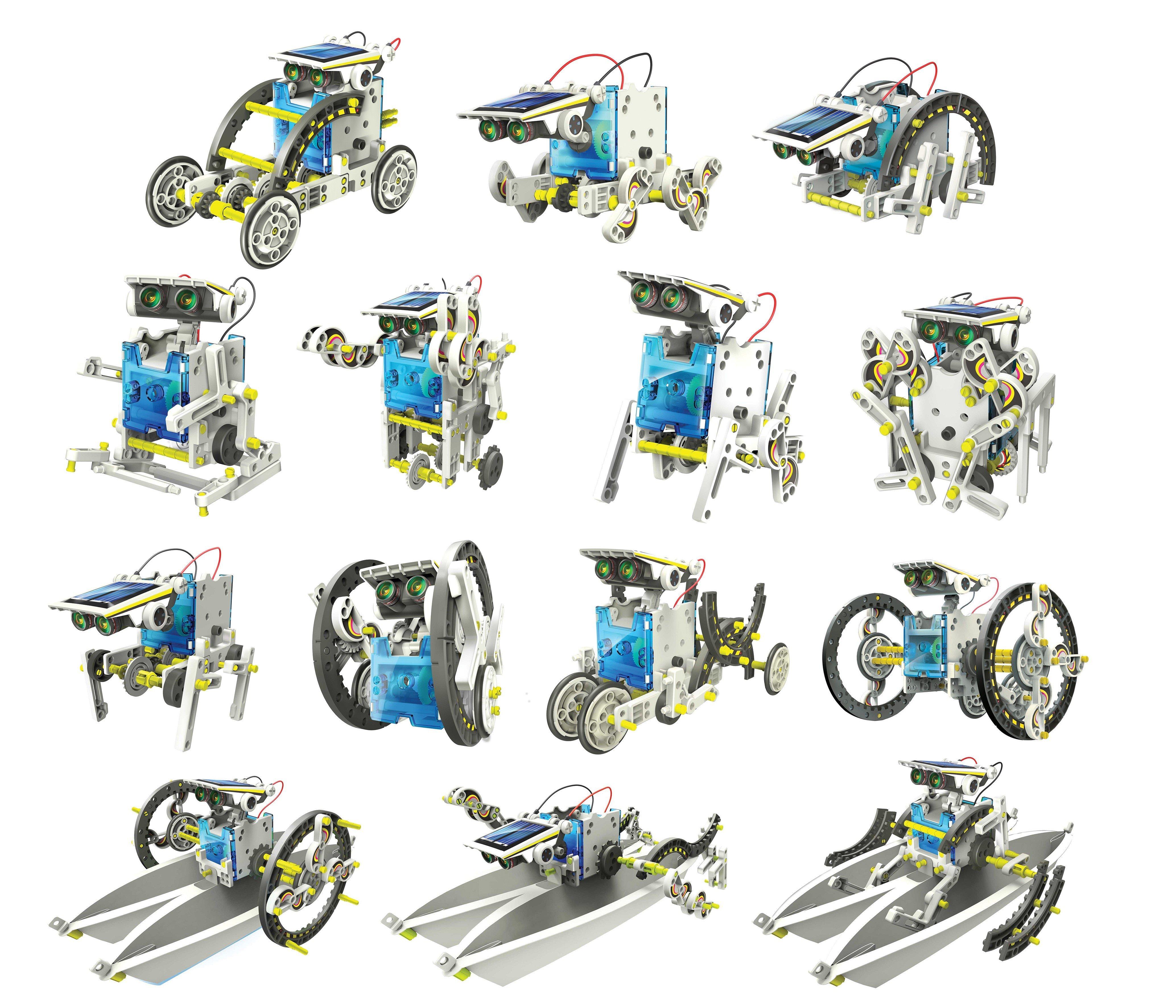 Kit robotica de constructie Roboti Solari 14 in 1 (RO) [10]