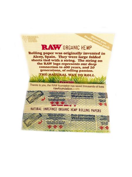 Foite rulat Raw Organic Double (50) 2