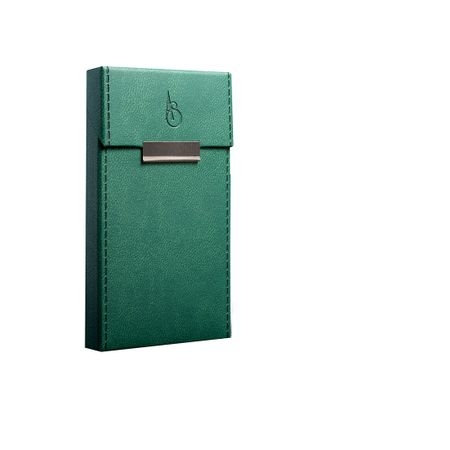 Husa ADAMI STEFANO pentru Pachete de Tigari Slim Size Verde stiched [0]