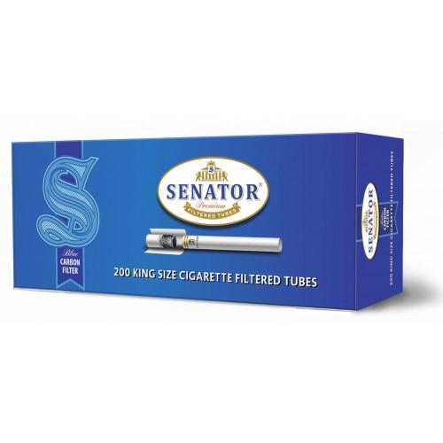 Tuburi tigari SENATOR Blue - Multifilter Carbon (200) 0