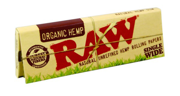 Foite Raw Organic Single Wide 0