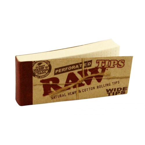 Filtre rulat RAW din carton - Filter Tips Wide (50) 0