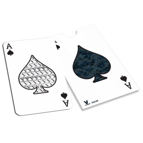 GRINDER CARD V-SYNDICATE - ACE OF SPADES 0