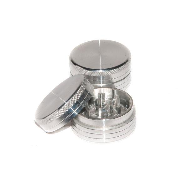 ALUMINIUM CNC GRINDER 2 PARTS 50MM silver [0]