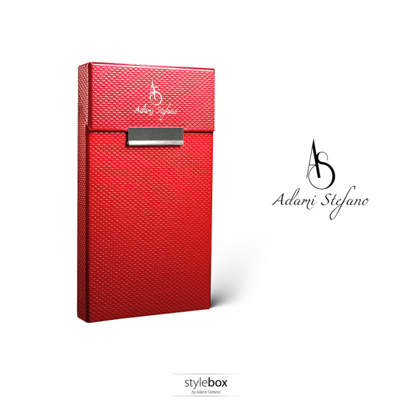 Husa ADAMI STEFANO pentru Pachete de Tigari Slim Size Red 0