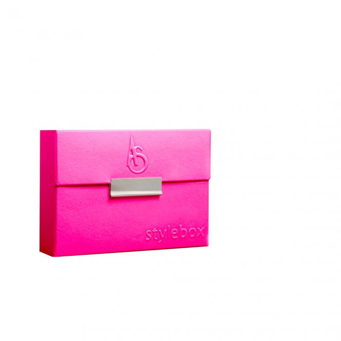 Husa ADAMI STEFANO pentru Pachete de Tigari tip Heets Croco electric pink [1]