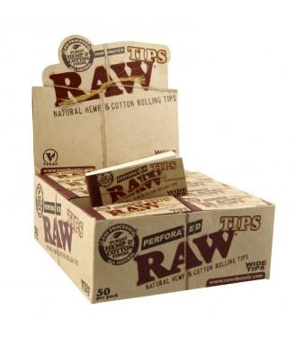 Filtre rulat RAW din carton - Filter Tips Wide (50) 1