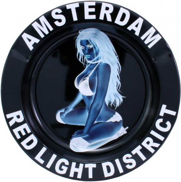 Scrumiera metal - Red Light District 0