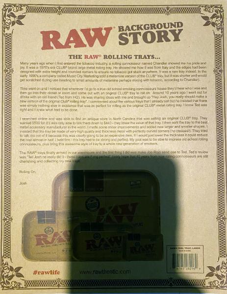 Tava pentru rulat tigari Raw Girl 2