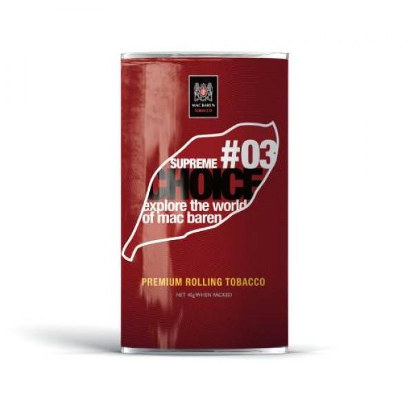 Tutun de rulat Mac Baren Choice Supreme #03 (30g ) 1