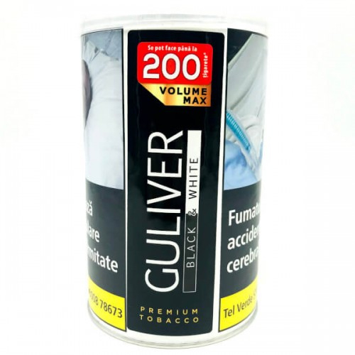 Tutun Guliver Volume Max 90g Black&White 0
